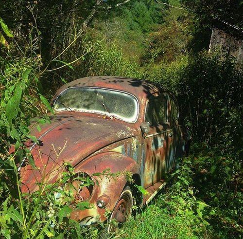 The Drive Volkswagen Beetle Rusty