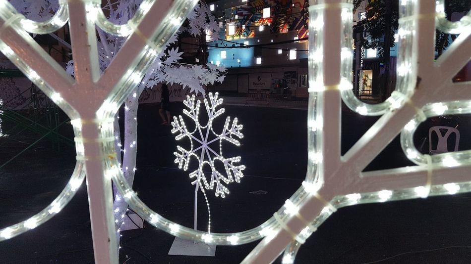 Sign Christmas Lights Snow ❄ Snow Light Night No People Close-up Outdoors Illuminated