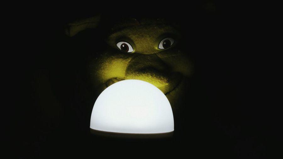 Close-up No People Black Background Indoors  Shrek Shrek Ears Shrek Eyes EyeEmBestPics EyeEm Gallery EyeEm Best Edits My Favorite Photo EyeEm Masterclass EyeEm Best Shots EyeEmbestshots Taking Photos Fine Art Photography Eyeemphotography Night TakeoverContrast Illuminated Spooky Spooky Atmosphere Spooky Eyes Spooky Doll Spooky💀💀