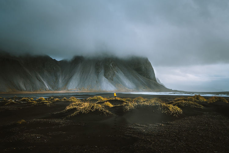 Check out my prints at http://simonmigaj.com/shop/ and visit my IG http://www.instagram.com/simonmigaj for more inspirational photography from around the world. Iceland Stokksnes Travel Beauty In Nature Black Sand Black Sand Beach Cloud - Sky Day Environment Idyllic Land Landscape Mountain Nature No People Non-urban Scene Outdoors Power In Nature Scenics - Nature Sky Tranquil Scene Tranquility Volcanic Crater Volcano Water