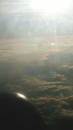 Bulutların üzerinde, güneşe yakın... Landscape Great Outdoors Mothernature Nature From An Airplane Window Like A Bird Sunshine Ineedamiracleformylostsoul Eye4photography  Travel