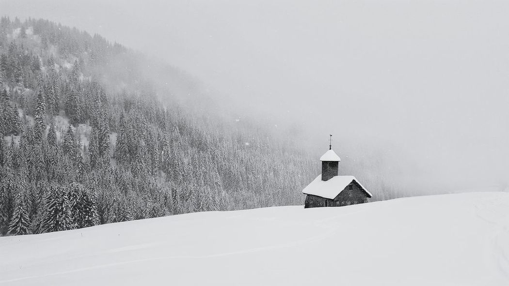 Snow Winter Nature Outdoors No People Snowing Eye4photography  EyeEm Best Shots Eye4photography  France Holidays ☀ Le Grand Bornand Winter Wonderland Winter