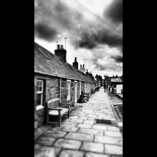 One from Fittie a few weeks ago Mycamerastories Fittie Footdee Aberdeen street bench traditional fishingvillage fish clouds rooftops love wee Scottish stone tradition stormy stormyskies igscotland instablackandwhite blackandwhite Scotland ig_scotland instascotland instasky thesky