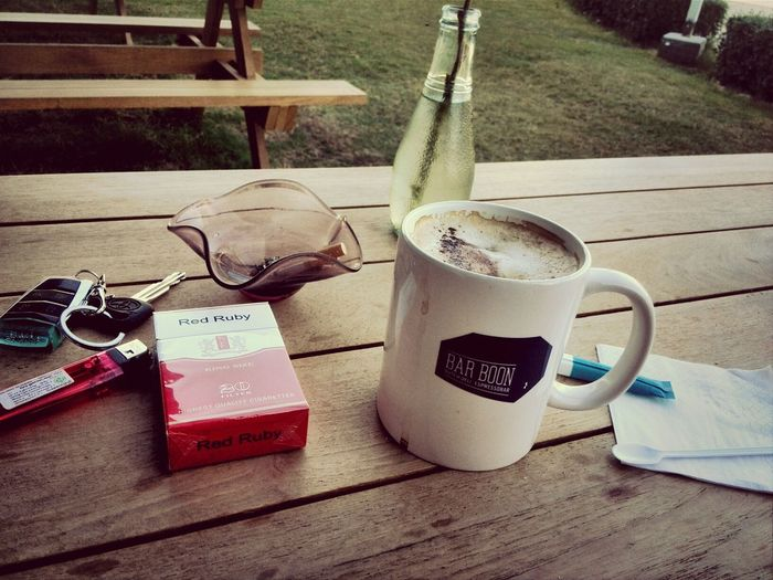 life is good . 1of capuccino. cigarettes & jazz Cappucino Coffee And Cigarettes Relaxing