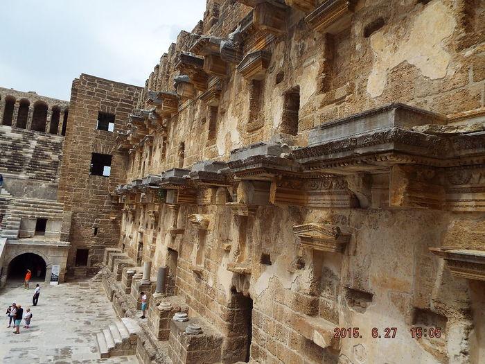 Aspendos Ancient Theatre Aspendos  Historical Turkey Amphitheatre