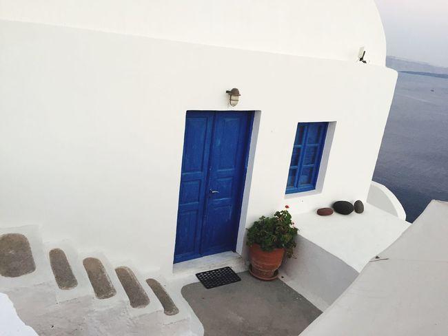Santorini, Greece Semplicity Open Your Mind