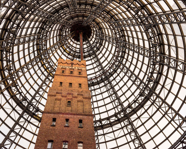 Architectural Feature Australia City Dog Melbourne Melbourne Central Red Brick Shopping Center Shot Tower Sky Tower Travel Destinations