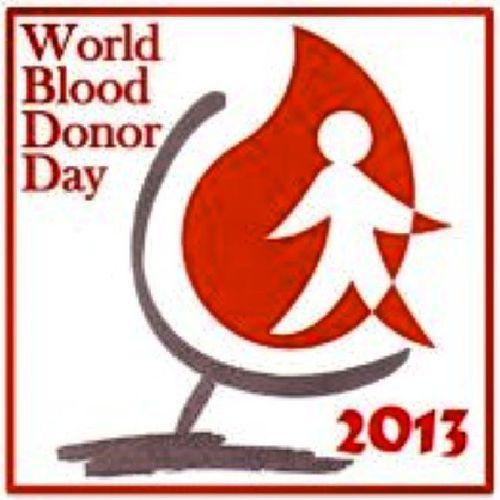 """Give the gift of life: donate blood"". WorldBloodDonorDay2013 ...!! @worldhealthorganization @WHO"