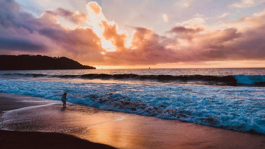 San Francisco - 002 Childhood Sunset Beach Beauty In Nature Scenics Horizon Over Water Silhouette Sand EyeEm Selects EyeEm Gallery EyeEmNewHere Travel Destinations Cloud - Sky Love Yourself #FREIHEITBERLIN