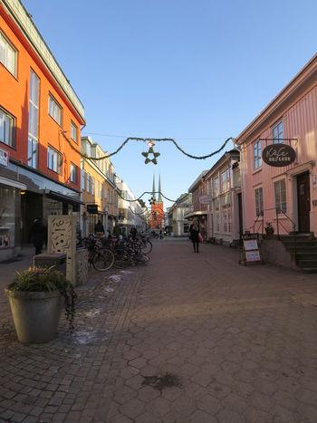 Växjö  Sightseeing Centre Walking Växjö Domkyrka Outdoors