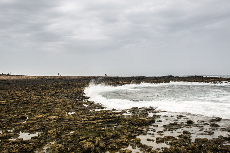 Canarias Colors Fuerteventura Aquatic Sport Beach Beauty In Nature Cloud - Sky Day España Horizon Over Water Island Land Motion Nature No People Non-urban Scene Outdoors Power In Nature Scenics - Nature Sea Sky Sport Water Wave
