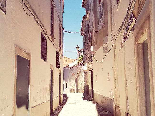 Small Town Street Photography Old Town Architecture Cobblestone Streets Sunny Day Beauty Of Decay Streetphotography Light And Shadow No People Outdoors No Pokemon Here