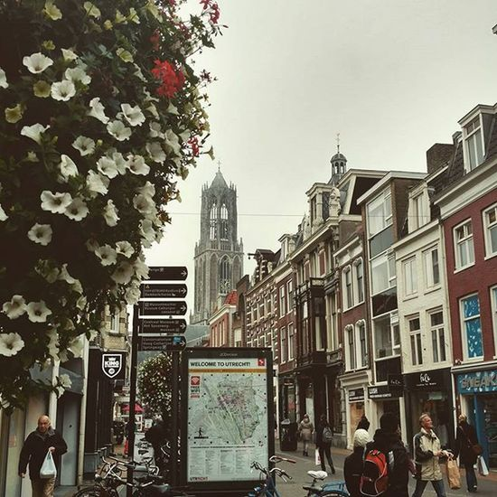Grey day in Utrecht Utrecht Holland Netherlands Studyabroad