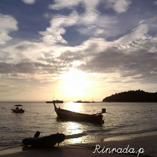 Sun set at Lipe island ,Thailand ♥ Relaxing Enjoying Life Travelling
