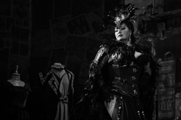 Final Variete of 2016 at the Panopticon. Arts Culture And Entertainment Black And White Burlesque Cabaret Cloads Featehrs Feminie Glasgow  Monochrome One Woman Only People Portrait Scotland Variety Woman