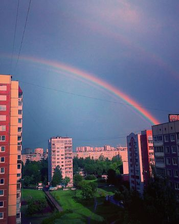 Hello World Rainbow Colors Sunshine Sky Of Sankt Peterburg Nature EyeEm Best Shots - Nature Streetphoto красотарядом Amazing Eyem Best Shot - My World