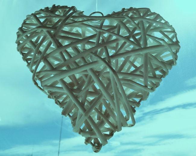 No People Sky Day Outdoors Tangled Tangle Heart Shape Heart ❤ Heart Heartshape Heart Shapes In Nature Heartbreak EyeAmNewHere EyeEmNewHere EyeEm Selects Sommergefühle Architecture Whitegate Way