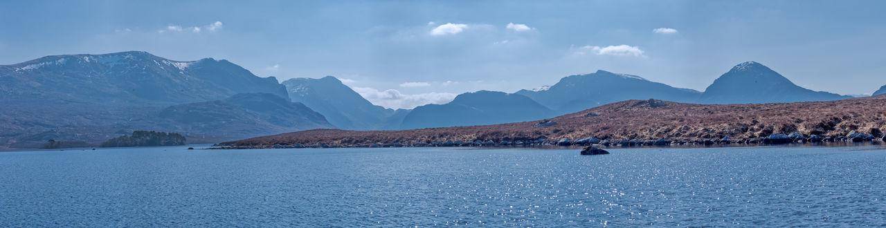Photo Merge Photography Loch Fionn Remote Location Scotland 💕 Tourist Attraction  Day Mountains And Sky No People Sunny Day Tourist Attractions Water Calm Waterfront Rocky Mountains Mountain Range Scenics