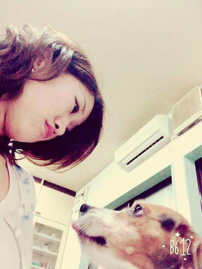 Love in the air My Dog <3 Beagle Eyes EyeEm Best Shots I Love You ! Dog