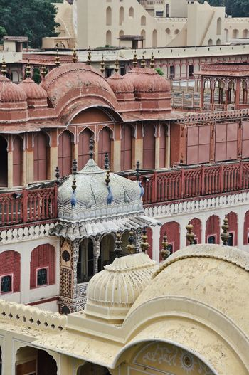 Rooftop Travel Photography Arch Architecture Building Building Exterior Built Structure City Courtyard  Day Design Dome History Incredible India No People Outdoors Palace Rooftop View  Rooftops Sandstone The Past Tourism Travel Travel Destinations Window