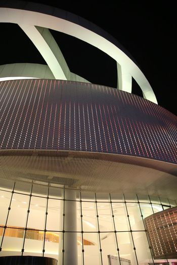 Concert Hall in China Architecture Built Structure Day Futuristic Illuminated Low Angle View Modern No People Outdoors Pattern Sky Concert Photography Concert Hall  Concert Hall China
