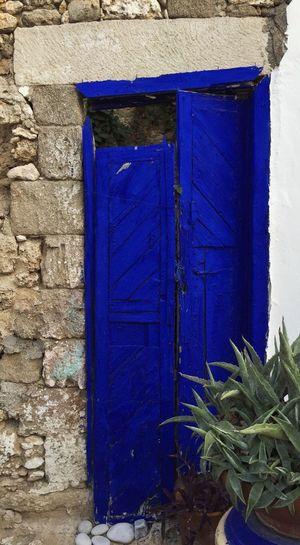 Blue door - Part II. Door Summer Time  Fun B&Bs Grand Adventure Greece Rhodes Taking Photos