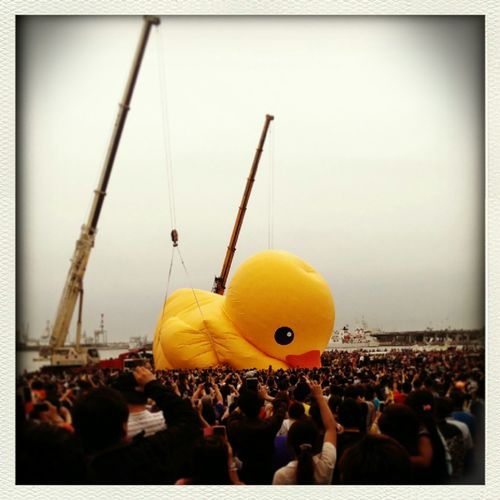 Rubber Duck by Florentijn Hofman @Taiwan Kaohsiung Rubberduckproject