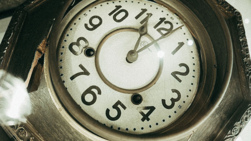 Antique Atomic Bomb Clock Japan Japan Photography Minute Hand Nagasaki No People Old-fashioned Retro Styled Time