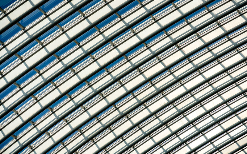 Modern ceiling closeup Full Frame Backgrounds Pattern Repetition No People Metal Built Structure Close-up Architecture Indoors  Design Day In A Row Geometric Shape Low Angle View Shape Glass - Material Textured  Modern Ceiling Silver Colored Side By Side Reinaroundtheglobe