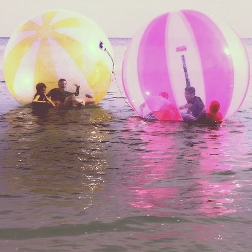 Played with some beach balls today for only 20php! Summer Beach Zorb Balls fun islandlife random philippines