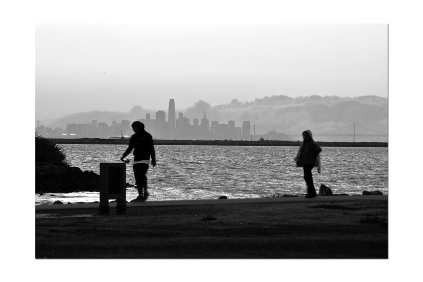 Sunset At San Leandro Marina 7 Shoreline Park Trail People Walking  Walkway Shoreline Sundown Sunset Sunset Silhouettes Sunset_lovers Sunset_collection Bay Bridge Fog Marine Layers! Cityscape San Francisco Skyline Airplane On Runway Skyscrapers Trash Can Land Mass Monochrome Monochrome_Photography Silhouettes Waterfront 🖤 Black & White Black & White Photography Black And White Black And White Collection  Landscape Landscape_Collection Urban Scene Urban Skyline