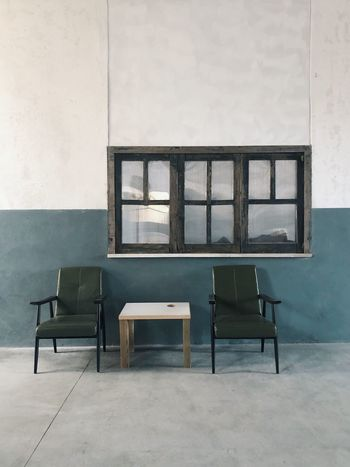 Seat Chair Window Indoors  Architecture Absence Empty No People Furniture