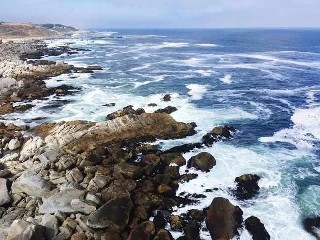 Punta De Tralca Pacific Ocean Sea Water Nature Beauty In Nature Chile Wave Scenics Horizon Over Water Sky Beach Tranquil Scene Tranquility Day Outdoors No People The Great Outdoors - 2017 EyeEm Awards Been There.
