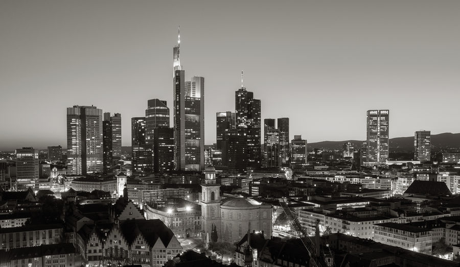 Frankfurt Sykline at night monochrome West Harbor Urban Skyline Travel Destinations Travel Tower Tall - High SW Sunrise Summer Spire  Skyscraper Skyline Sky River Residential District Outlook Outdoors Office Building Exterior Office Building Office Night Nature Morning Monochrom Modern Mainhattan Main River Main Lights Landscape Landmark Illuminated Hesse Glass Germany Frankfurt At The Main River Frankfurt Financial District  Financial Ffm European Union Europe Euro Economy Dusk Downtown District Crowd Cityscape City Church Center Cathedral Bussines Built Structure Building Exterior Building Bridge Brexit Black And White Big City Banks Banking Center Architecture Apartment Airport