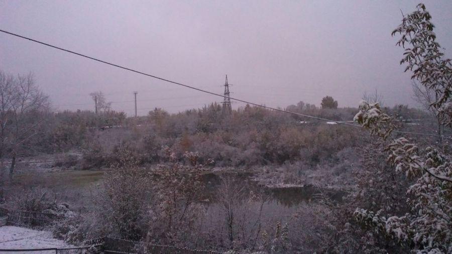 Зима.Природа