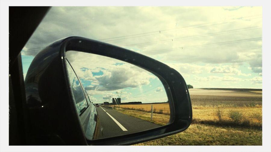 Mirada Retrovisor traveling Landscape