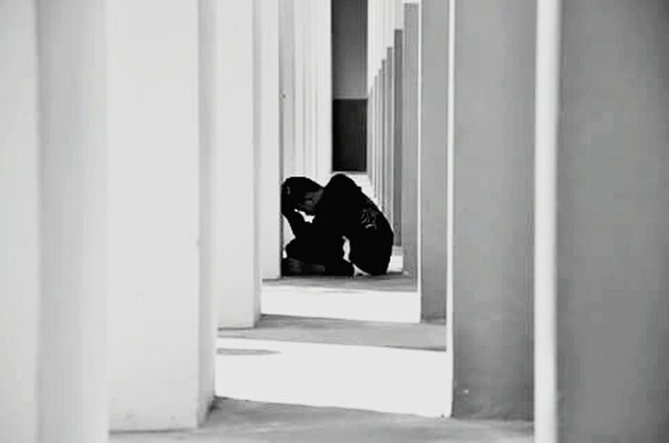 sit alone One Person Indoors  Only Men Sadness😢 Sad & Lonely Sad :( Depression - Sadness One Man Only People