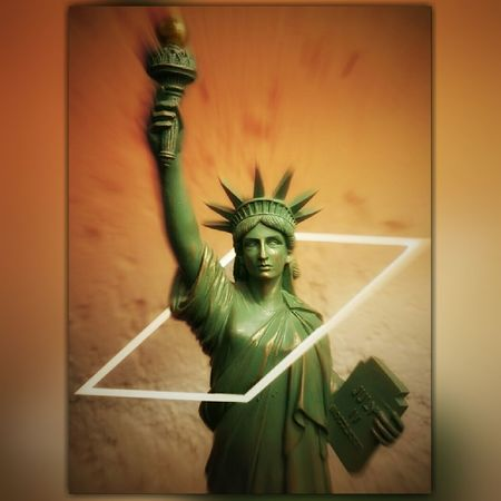 Statue Crown Day Liberty Woman Power Women Womens Rights Women Power