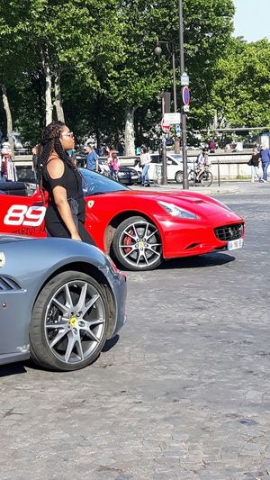 Why not a guided tour in Paris in one of these amazing cars ? This is a new way to see Paris. But is this to see or to be seen ???😉 Nevertheless, with a good company, I think I will appreciate 😊 .... Cars Sport Cars Attraction Tourist Attraction  Girl Waiting Jardins Du Trocadero Paris, France