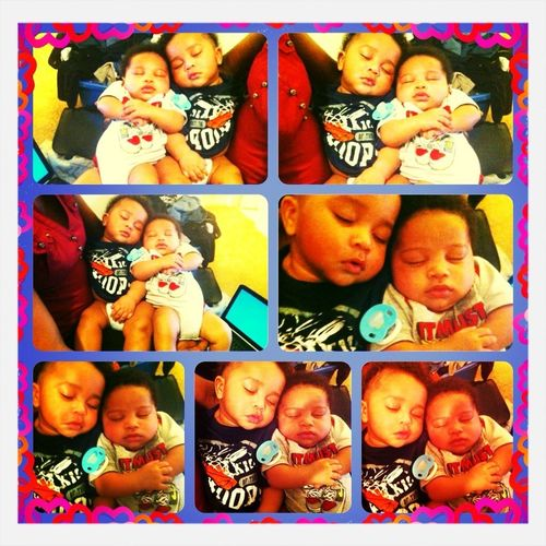 My Baby And His Cousin,,, (my Nephew)