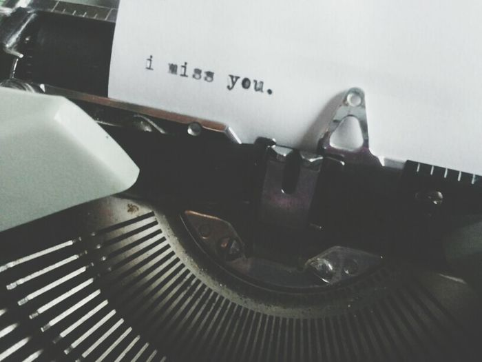 Long Distance Relationiships Dattilografy
