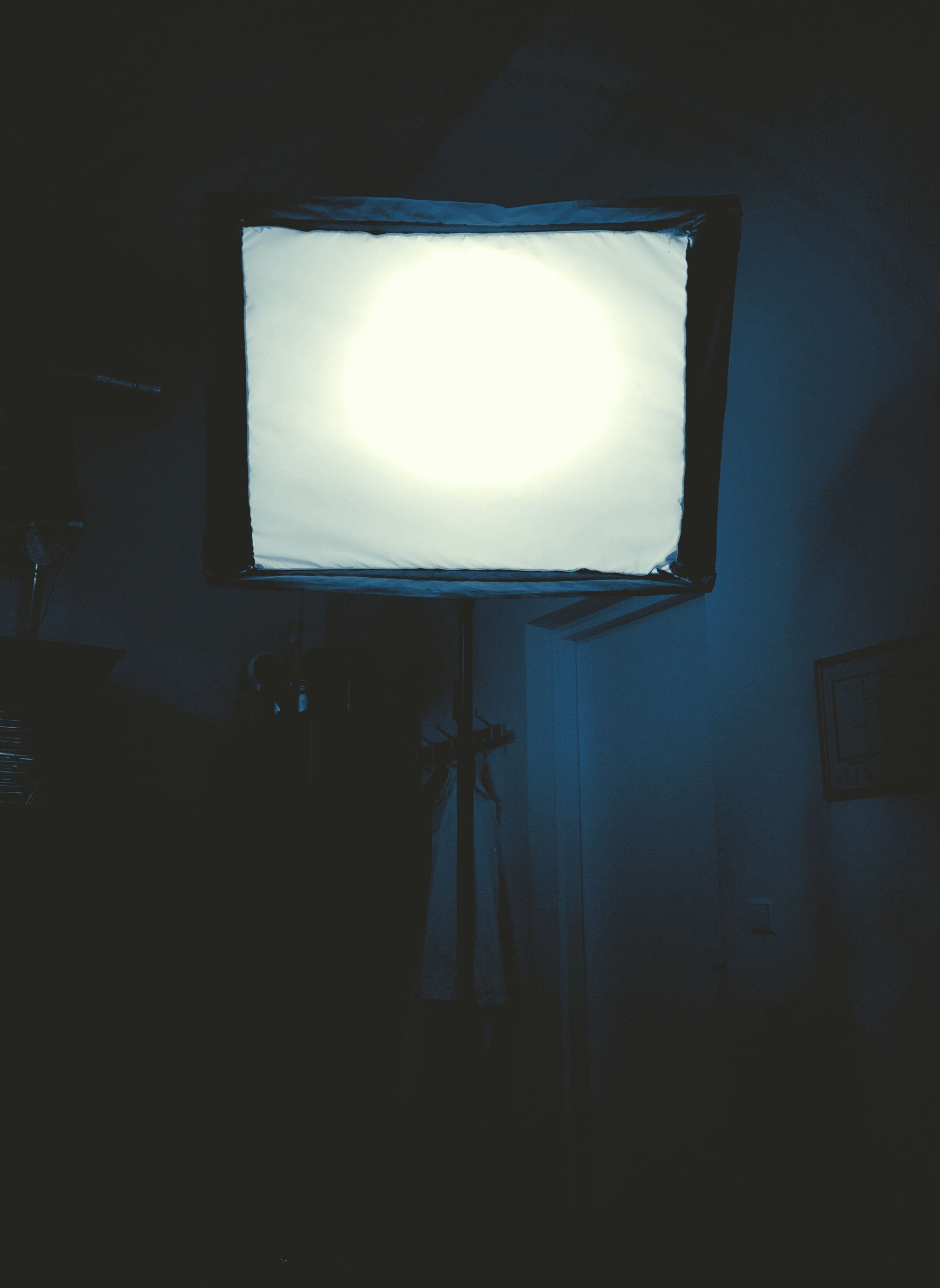 lighting equipment, illuminated, street light, low angle view, home interior, electricity, sky, in front of, electric light, no people, lit