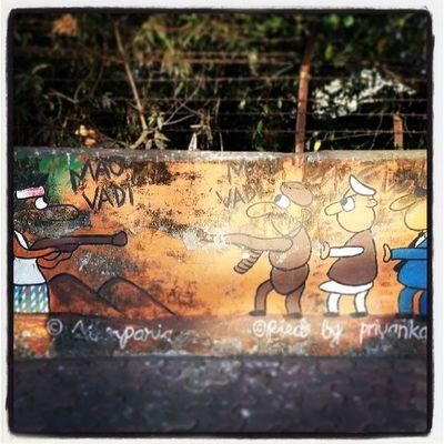Instagram Mumbai Mumbaimag MumbaiPC igersmumbai instapicture instahub instacanvas streetscene streetart wallart