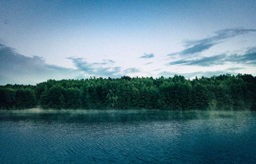 DJI Mavic Pro VSCO Beauty In Nature Cloud - Sky Day Dji Forest Growth Idyllic Lake Nature No People Non-urban Scene Outdoors Plant Scenics - Nature Sky Tranquil Scene Tranquility Tree Water Waterfront