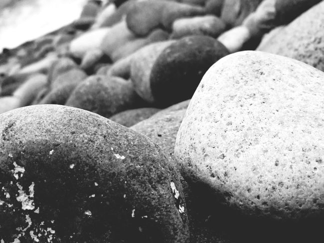 Black & White Rock - Object Beach No People Nature