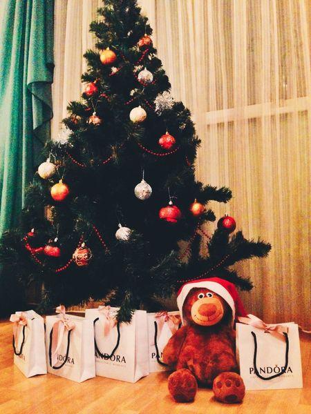 Happy New Year Merry Christmas! Pandora С Новым Годом рождество
