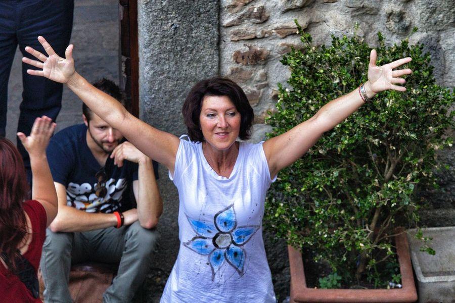 Dancing Tuscany Arcidosso Festival Folk Dance Folk Festival Group Dance Maremma Pizzica