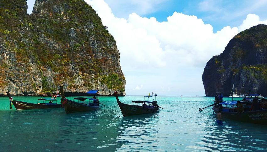 The Great Outdoors With Adobe Enjoying Life Vacation Seaside Island Life Beach Life Ocean And Sky Sea View Ocean Nature Thailand Thai Beach Andaman Sea Longtail Boats Boats Sea And Sky Beach The Beach  Beach Day Ocean View The Beach Life Sea Side The Great Outdoors - 2016 EyeEm Awards