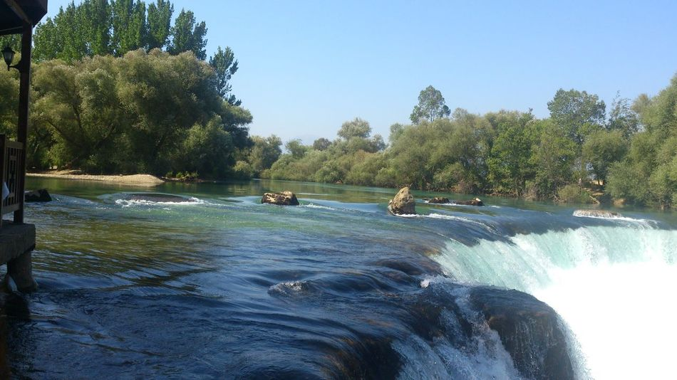 Manavgatwaterfall Waterfall Manavgat Turkey The Great Outdoors - 2016 EyeEm Awards The Essence Of Summer