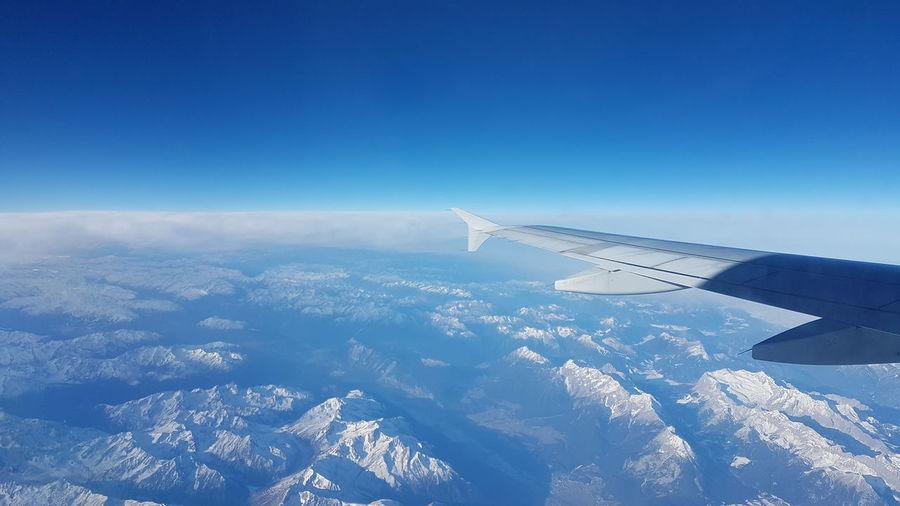 Clear blue sky!